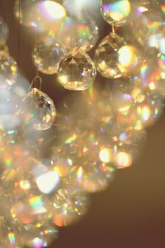 Sparkle, glitter makes me feel happy. I love glitter/sparkly things.