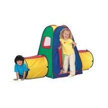 Crawl N' Play by N/A. $43.99. The eye-catching Crawl N' Play will delight and entertain little ones as they crawl and explore. Features 2 vibrant tunnels and cube. Includes carrying case for storageùhow's that for convenience? The patented EZ Twist Technology makes assembly hassle-fr