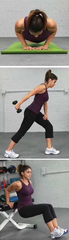 3 Exercise Moves to Get Rid of Arm Flab