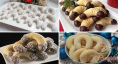 12 pompás karácsonyi kifli recept és ötlet | TopReceptek.hu Christmas Crafts, Xmas, Doughnut, Waffles, Cake Recipes, Biscuits, Food And Drink, Cookies, Breakfast
