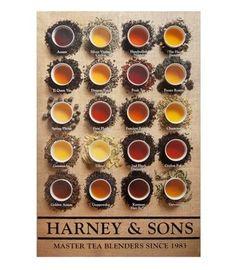 ハーニー&サンズは、ニューヨーク生まれのお茶専門店。本場イギリスでも認められる紅茶のシリーズから、日本茶まであります。おすすめは、カフェインフリーのハーブティーでしょうか。特に、「Yellow & blue」はカモミールとラベンダーが調和した夜、寝る前にゆっくり飲みたい味。