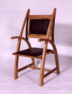 Gothic #chair   #cnc