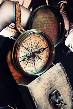 Old compass.