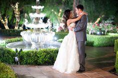 Night Time Twinkle Lights Photos at Villa de Amore Temecula California Wedding Venues | Villa de Amore