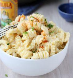 Quick Stovetop Mac and Cheese. I wonder if it will still taste good if I use yogurt butter, wheat flour, and almond milk instead. Hmmmm....