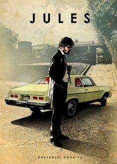 jules chevrolet nova samuel jackson car legends legend pulp fiction Characters
