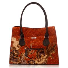 Handmade Silk Cotton IndonesianBatik and Faux Leather by VONAbali, $42.00