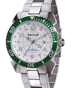 If you have an unhealthy interest in watches, because of our low prices, we offer a great recovery. This Sector watches is is robust and durable, from €210,- for €99,- www.megawatchoutlet.com Sport Watches, Rolex Watches, Bracelet Watch, Popular Sports, Bracelets, Recovery, Accessories, Bracelet, Survival Tips