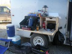 Cargo trailer to Camp trailer conversion. - Page 2 - ADVrider