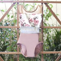 SMALL DUSTY ROSE FLORAL SPICE<br> READY TO SHIP