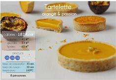 tarte orange passion