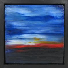 Element of Peace in the Distance oil painting abstract canvas landscape seascape by JeanMacalusoFineArt on Etsy