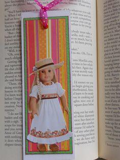 Julie American Girl Bookmark Girls Birthday by crazygirlscreations, $3.00