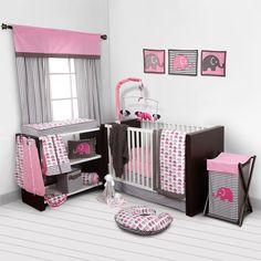 Found it at Wayfair - Elephants 10 Piece Crib Bedding Set