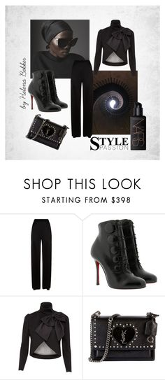 """""""#273"""" by helena-bekker ❤ liked on Polyvore featuring Temperley London, Christian Louboutin, Alice + Olivia, Yves Saint Laurent and NARS Cosmetics"""