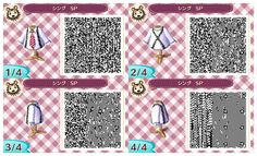 ACNL.QR CODE-Suspenders and Red Tie