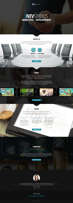 iNevStudios by VictoryDesign on DeviantArt Web Design Inspiration, Deviantart, Templates, Models, Template, Stencils