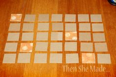 Then she made...: It's Cookie Sheet Calendar time!