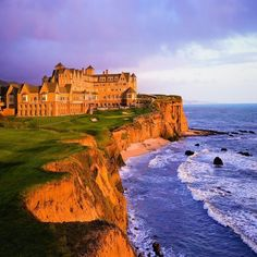 the Ritz Carlton on the Pacific Ocean in Half Moon Bay, California