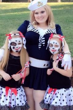 Leigh Ann with the twins