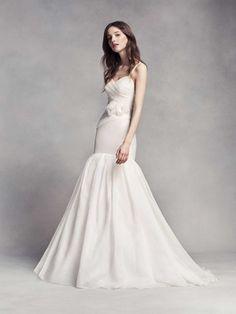 Fresh Classic Silhouettes from White by Vera Wang Fall Vera Wang Wedding DressesTrumpet