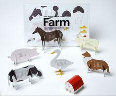 Farm Calendar by Katsumi Tamura