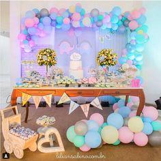 101 fiestas: Ideas de decoración para tu fiesta de baby shower ...