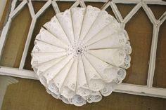 Ideas para utilizar blondas de papel - Dale Detalles