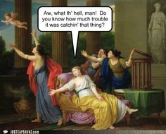 haha ancient art humor