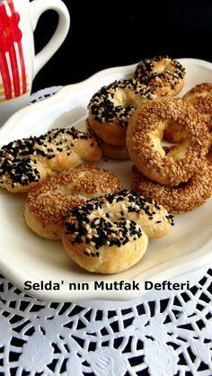 Selda' nın Mutfak Defteri...: Tuzlu Pastane Kurabiyesi