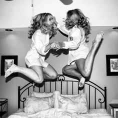 Must have a picture like this. Bride and Best friend
