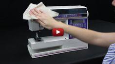 sewing machine maintenance tutorial