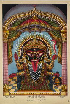 Kali, 19th c. print