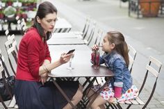 """Turns out that kids notice when their parents are distracted, and one of the biggest distractors is technology, according to the annualHighlightsState of the Kid survey, released earlier this month.  """"When a parent is on their tablet or phone, it signals to a child that he's not as important to the parent as the person on the other end of the call/text/video/post/poke/ping,"""" Sylvia Barsotti, director of parenting editorial at Highlightsmagazine,tells Yahoo Parenting.  """"One time isn't ..."""