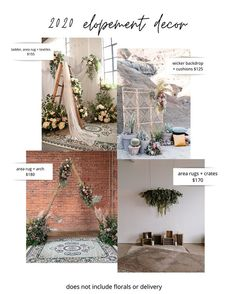 We tried our best to fine tune a selection of simple and easy decor bundles ​for the 2020 elopement rush! Wedding Decorations, Table Decorations, Decor Wedding, Elopement Inspiration, Elopement Ideas, Event Decor, Event Ideas, Live In The Now, Orange