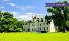 Château du Breuil à Cheverny : Séjour gourmand 4* dans la Vallée de la Loire: #CHEVERNY 99.00€ au lieu de 195.00€ (49% de réduction)