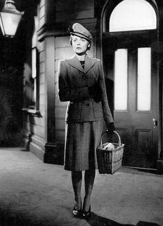 """Celia Johnson in """"Brief Encounter"""" (1945). Director: David Lean."""
