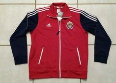 Rare NWT ADIDAS Chivas USA  MLS Sideline Soccer Jacket Men's XL #adidas #CDChivasUSA