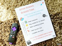 How To Cut Cable and Still Watch Your Favorite Shows (even on the road!) + Free After School Screen Time Printable For Kids! via @musthavemom
