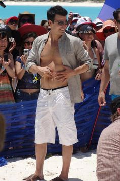"Beachy JK  Via @SoxChick77 on Twitter ""Love this one of @Jordan Knight! #HMC #NKOTBCruise2013"""