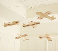 Easy to diy with Balsa wood planes.