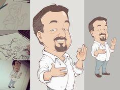 Seja um Desenhista Profissional como Bruno Santana