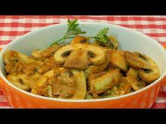 Cómo hacer champiñones a la Andaluza / receta fácil y rápida - YouTube