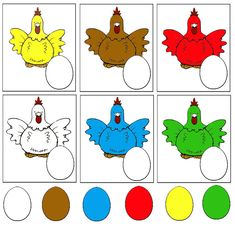 Back to Color sorting and matching activities « previous in gallery next in gallery Color Activities For Toddlers, Preschool Colors, Preschool Learning Activities, Free Preschool, Easter Activities, Preschool Worksheets, Book Activities, Preschool Activities, Kids Learning