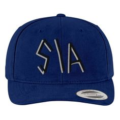 Sia Brushed Embroidered Cotton Twill Hat