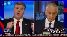 Univision anchor Jorge Ramos made Fox host Sean Hannity look like the angry Trump puppet that we all know him to be.