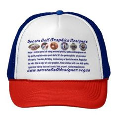 Shop sportsballgraphicsdesigner trucker hat created by DAEVEGAS.