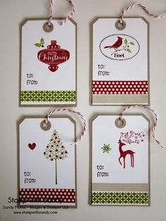 Handmade gift tags are like the finishing touch in making someone feel truly special just knowing know that gift is from you.