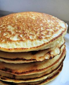 Actually tastier than regular carb-laden pancakes, this is my favorite go-to breakfast recipe since I first learned how to make them 7 years ago! Made with ground almonds/almond flour in place of wheat, these beauties are not just incredibly simple and easily adapted to be sweet or savory, but are ALSO gluten-free AND high-protein to boot. A nutritious 1-2-3 if there ever was one!    Of course, if carbs aren't your concern then you can absolutely just drench the whole thing in ...