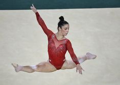 For the bargain price... The company behind the leotards worn by Team USA gymnasts (including Aly Raisman) at the Olympics is now offering less-expensive replicas